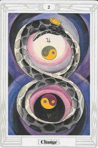 two of pentacles thoth