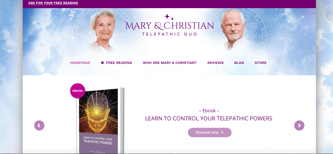 🔮 Mary and Christian Telepathic Duo Review 2019   SCAM - AVOID!